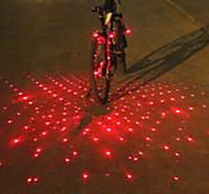 economico -Laser LED Luci bici Luci end bar Luce posteriore per bici luci di sicurezza Ciclismo da montagna Bicicletta Ciclismo Sveglia Luce LED multi-utensile Avvertenze Batteria Ciclismo