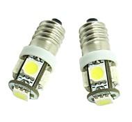 economico -SENCART Auto LED Luci interne E10 Lampadine 70 lm SMD 5050 1.5 W 5 Per Universali 2 pezzi