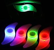 abordables -lumières de vélo en plein air lumière de vélo coloré LED pneu de voiture cyclisme bicyclette roue bouchons de valve rayons lumières