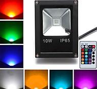 economico -Faretto led da esterno 10w rgb luci da esterno 1 led led ad alta potenza telecomandato nero ac 85-265v