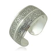 abordables -Manchettes Bracelets Femme dames Asiatique Italien Bracelet Bijoux Argent pour Mariage Soirée Quotidien Décontracté