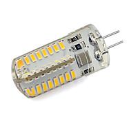 economico -1pc 4 W Luci LED Bi-pin 260 lm G4 64 Perline LED SMD 3014 Bianco caldo Luce fredda 220-240 V / RoHs