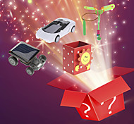 abordables -3pcs noël sac chanceux - gadgets solaires, boîte à musique, gadgets volants (modèle aléatoire)