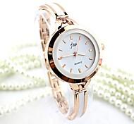 economico -Per donna Orologio braccialetto orologio d'oro Analogico Quarzo Donne imitazione diamante