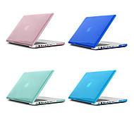 abordables -MacBook Etuis Transparente / Couleur Pleine Plastique pour MacBook Pro 13 pouces / MacBook Pro 15 pouces