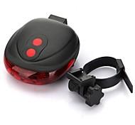 abordables -Laser LED Eclairage de Velo Eclairage de Vélo Arrière Eclairage sécurité / feu clignotant velo - VTT Vélo tout terrain Vélo Cyclisme Imperméable Portable Avertissement Facile à Installer AAA 50 lm