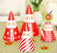 abordables -debout bricolage carte de Noël de Santa (4pcs)