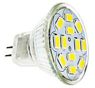 economico -2 W Faretti LED 240-260 lm GU4(MR11) 12 Perline LED SMD 5730 Bianco caldo Luce fredda 12 V