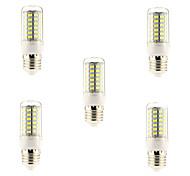 economico -5 pezzi 5 W LED a pannocchia 600 lm E26 / E27 69 Perline LED SMD 5730 Bianco 220-240 V