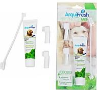 abordables -dentifrice et brosse à dents nettoyage de costume pour les chiens de compagnie