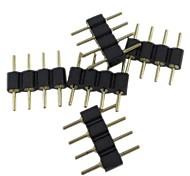 economico -5 pezzi Accessorio di illuminazione Plastica Connettore elettrico