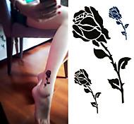 abordables -1 pcs Tatouages temporaires Jetable / De haute qualité, sans formaldéhyde mains / cheville Stratification Tatouages Autocollants / Autocollant de tatouage