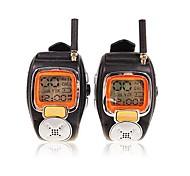 abordables -22 canaux ruban style de montre-bracelet un talkie-walkie paire avec grand écran LCD rétro-éclairage