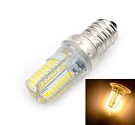 abordables -brelong 1 pc e14 64led smd3014 maïs lumière ac220v blanc chaud