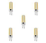 abordables -5 pièces 10 W Ampoules Maïs LED 1000 lm G9 T 152 Perles LED SMD 3014 Intensité Réglable Blanc Chaud Blanc Froid 220-240 V