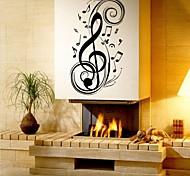 abordables -Mode / Forme / Musique Stickers muraux Autocollants avion Autocollants muraux décoratifs, Vinyle Décoration d'intérieur Calque Mural Mur Décoration / Amovible