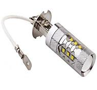 abordables -Lampe de Décoration 1200 lm H3 14LED Perles LED LED Haute Puissance Décorative Blanc Froid 12 V 24 V / 1 pièce / RoHs / CCC