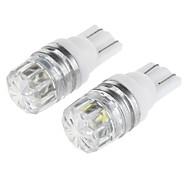 abordables -SO.K Automatique LED Feux de position latéraux T10 Ampoules électriques 100 lm LED SMD 1 W 1 Pour Universel 2 pièces