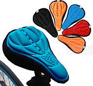 economico -Copertura / cuscino sella della sella della bicicletta Traspirante Comfort Pad 3D Silicone Gel di silice Ciclismo Bici da strada Mountain bike Nero Rosso Blu