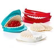 abordables -ensemble de 3 presse à pâte en plastique moule dumpling maker ustensile de cuisine gadget
