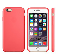 economico -telefono Custodia Per Apple Per retro iPhone 8 Plus iPhone 8 iPhone 7 Plus iPhone 7 iPhone 6s Plus iPhone 6s iPhone 6 Plus iPhone 6 Resistente agli urti Tinta unita Morbido Silicone