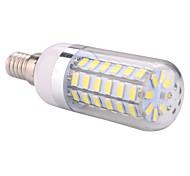 economico -ywxlight® e14 60led 5730smd bianco caldo bianco freddo led lampadina del cereale lampadario per illuminazione domestica led lampadina ac 110-130 v ac 220-240 v