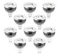 abordables -10pcs 4 W 320 lm MR16 Spot LED 4 Perles LED LED Haute Puissance Intensité Réglable Blanc Chaud / Blanc Froid / Blanc Naturel 12 V / 10 pièces / RoHs