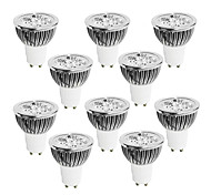 abordables -10 pcs 4W GU10 LED Light Cup Blanc Chaud Blanc Lumière Naturelle AC85-265V