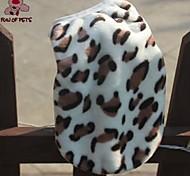 economico -Gatto Cane Gilè Vestiti del cucciolo Leopardata Casual Tenere al caldo Inverno Abbigliamento per cani Vestiti del cucciolo Abiti per cani Leopardo Costume per ragazza e ragazzo cane Pile XS S M L XL