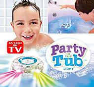 abordables -jouets émettant de la lumière mijoteuses bain / spectacle de lumière l'heure du bain des enfants