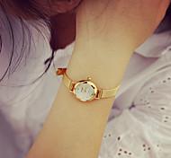 economico -Per donna Orologio braccialetto orologio d'oro Analogico Quarzo Retato Donne Orologio casual