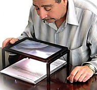 abordables -pleine page de grand géant bureau loupe loupe de verre pour la lecture
