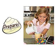 abordables -maison creamcup de glace magique (couleur aléatoire)