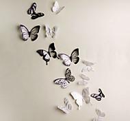 abordables -3D stickers muraux chambre, pré-collé pvc décoration de la maison sticker mural 21 * 29 cm