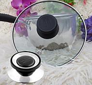 abordables -couvercle de batterie de cuisine universel vis de remplacement poignée couvercle circulaire couvercle ustensile bouton de maintien