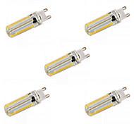 economico -5 pezzi 12 W LED a pannocchia 1200 lm E14 G9 G4 T 152 Perline LED SMD 3014 Oscurabile Bianco caldo Bianco 220-240 V 110-130 V