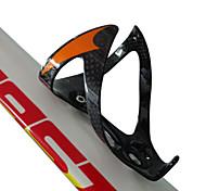 abordables -Vélo Bouteille d'eau Cage Portable Poids Léger Vestimentaire Antiusure Durable Pour Cyclisme Vélo de Route Vélo tout terrain / VTT Motocross TT Vélo à Pignon Fixe Plein carbone Orange Rouge Vert 3 pcs