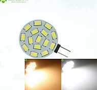 economico -Faretti LED 700-900 lm G4 MR11 15 Perline LED SMD 5630 Oscurabile Bianco caldo Bianco 12 V 24 V 9-30 V