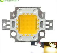 economico -SENCART 1pc COB 900 lm 30 V Alluminio Chip LED 10 W