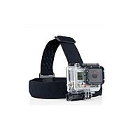 economico -Fissaggio Frontale Con bretelle Conveniente Per Videocamera sportiva Gopro 6 Tutti Gopro 5 Gopro 4 Gopro 3 Nylon / Gopro 2 / Gopro 3+ / Gopro 2 / Gopro 3+