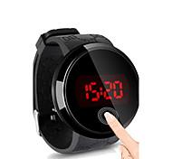 economico -Per uomo Orologio da polso Orologio digitale Digitale Digitale Semplice orologio Resistente all'acqua Schermo touch Creativo / Silicone / Due anni