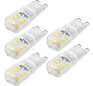 economico -ywxlight® 5pcs dimmerabile g9 4w 300-400 lm led bi-pin luci 14 led smd 2835 bianco caldo bianco freddo naturale bianco ac 220 v