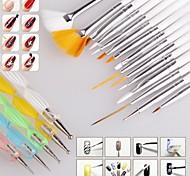 abordables -1 pcs Kits d'ongles Léger, puissant et durable Classique Mode Quotidien outils qui parsèment pour