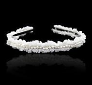 abordables -Imitation de perle Alliage Serre-tête Casque