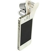 abordables -Microscope de téléphone portable Microscope Loupes boucle de bijoutiers Amusement 60 fois Métal Pour Enfant Garçon Fille