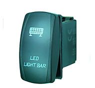 economico -laser 5pin iztoss ha condotto la luce interruttore bar-off ha condotto la luce 20a 12v blu con fili da installare