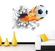 economico -romanticismo / cartoni animati / sport adesivi murali adesivi murali 3d adesivi murali decorativi, vinile decorazione domestica decalcomania murale decorazione murale 1 / rimovibile 70 * 50 cm