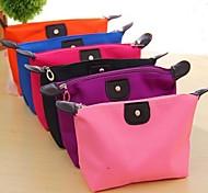economico -inserto di viaggio portatile cosmetico organizzatore della borsa borsa di linea ordinata trucco da toeletta di corsa del sacchetto (colori