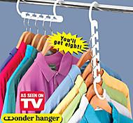 abordables -Cintres Plastique avec 1 pack , Fonctionnalité est Voyage , Pour Sous-vêtement / Lessive