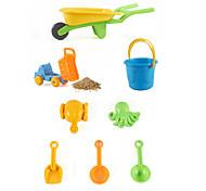 abordables -Jouets de plage Ensemble de jouets de sable de plage Jouets aquatiques 8 pcs ABS Pour Enfant Adulte
